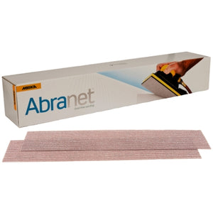 "Mirka Abranet 2.75"" x 16.5"" Grip Sanding Board Sheets, 9A-151 Series"