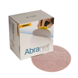 Mirka Abranet Grip Sanding Disc Collection