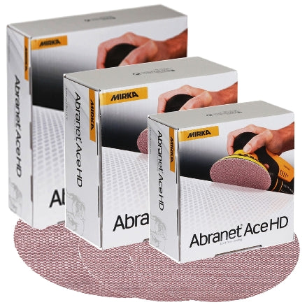 Mirka Abranet Ace HD Sanding Disc Collection, AH Series