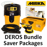 Mirka DEROS Electric Sander Bundles