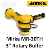 "Mirka 3"" Two-Handed Rotary Air Buffer, MR-30TH"