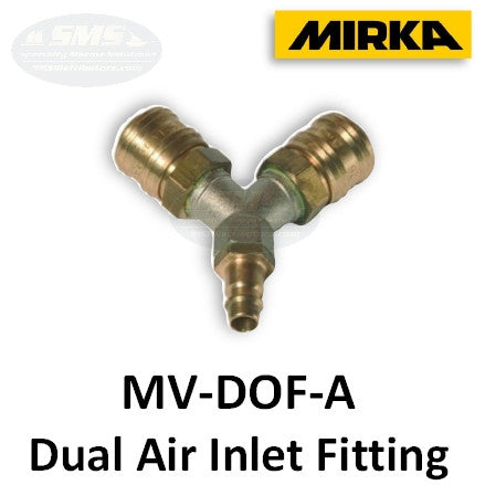 Mirka MV-DOF-A Dual Operator Air Inlet Fitting