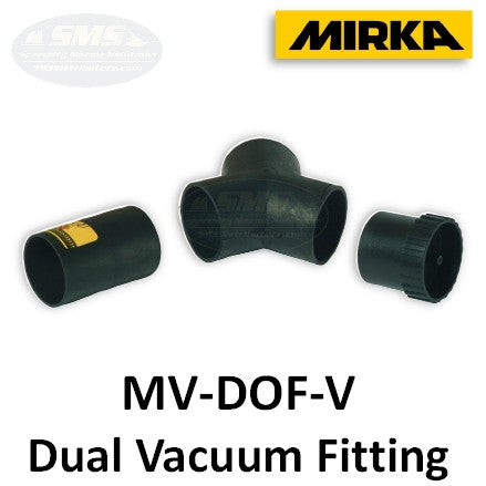 Mirka MV-DOF-V Dual Operator Vacuum Fitting Kit