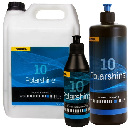 Mirka Polarshine 10 Medium Compound Collection