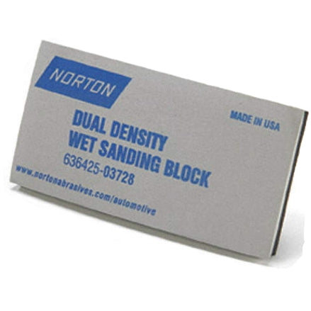 Norton Dual Density Wet Sanding Block, 03728