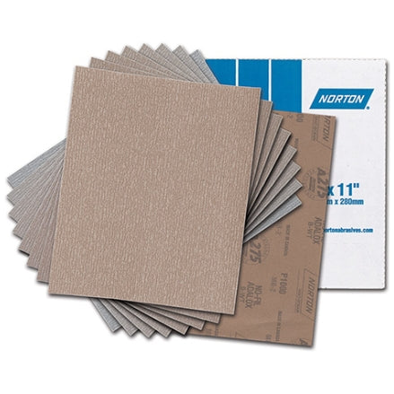 Norton Champagne A275 Sanding Sheets