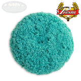 "Presta 9"" Wool, Green Blend, Polishing Grip Pad, 890143, 2"