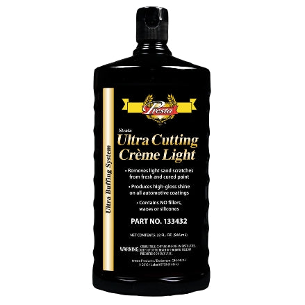 Presta Ultra-Cutting Creme Light, 32 Oz, 133432