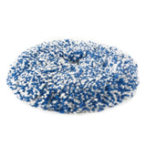 "RUPES 8"" Blue Coarse Twisted Wool Pad for LH19E Rotary Tool with 6"" Backing Plate, 9.BL200H"