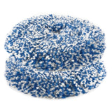 "RUPES 8"" Blue Coarse Twisted Wool Pad for LH19E Rotary Tool with 6"" Backing Plate, 9.BL200H, 2 pack"