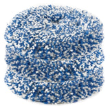 "RUPES 8"" Blue Coarse Twisted Wool Pad for LH19E Rotary Tool with 6"" Backing Plate, 9.BL200H, 3 pack"