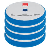 "RUPES 5.25"" (135mm) Foam, Blue Coarse Pad for Rotary Tools, 9.BR150H, 4 Pads"