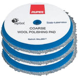 "RUPES 6.75"" Blue Coarse Wool Pad for 6"" LHR21, LK900E Mille Tools, 9.BW180H"
