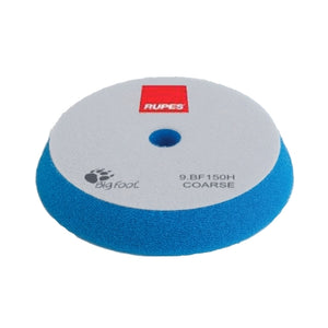 "RUPES 6"" Blue Coarse Angle Foam Pad for 5"" LHR15, LHR12E, LTA125 Tools, 9.BF150H"