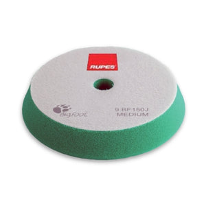 "RUPES 6"" Green Medium Foam Angle Pad for 5"" LHR15, LHR12E, LTA125 Tools, 9.BF150J"
