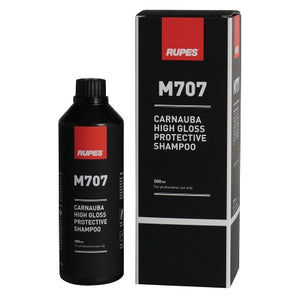 RUPES M707 Carnauba Wax High Gloss Protective Shampoo, 9.CCM707