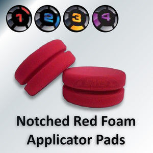 Red Foam Applicator Pads