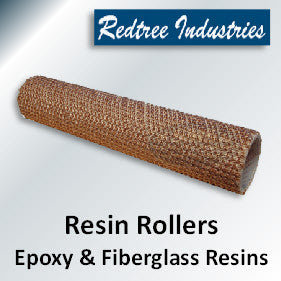Epoxy and Fiberglass Resin Roller Covers