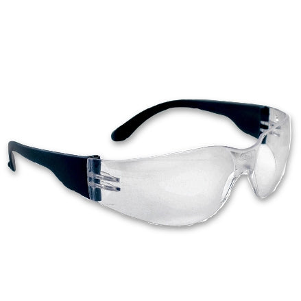 SAS Safety NSX Safety Goggles, Black Frame Clear Lens, 5340