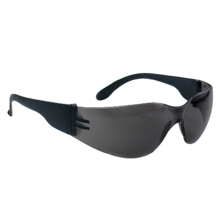 SAS Safety NSX Safety Goggles, Black Frame Gray Lens, 5343