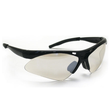 SAS Safety Diamondbacks Safety Goggles, Black Frame with Indoor/Outdoor Mirror Lens, 540-0202
