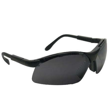 SAS Safety Sidewinders Safety Goggles, Black Frame with Shade Lens, 541-0001