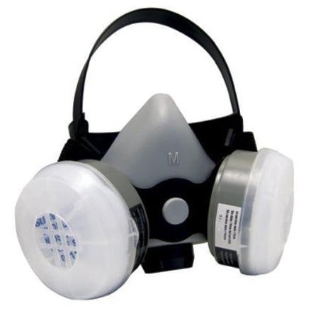 SAS Safety BreatheMate Multi-Use Dual Cartridge Respirator with OV/R95