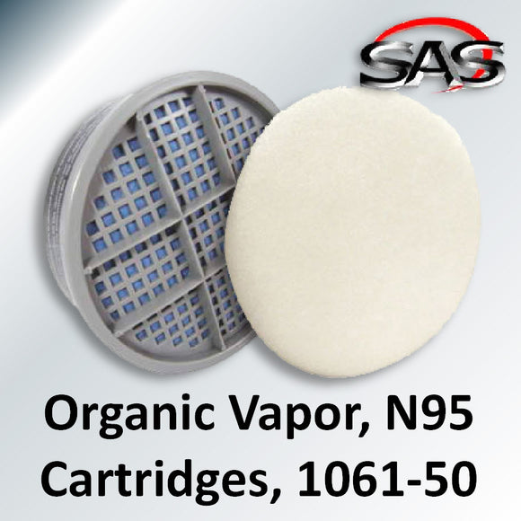 Organic Vapor & N95 Cartridge Combo Kit