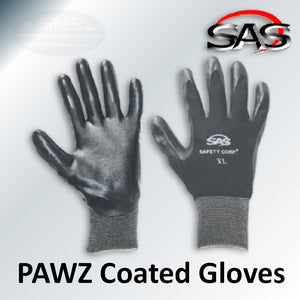 PAWZ Nitrile Coated Gloves