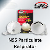 SAS Safety N95 Particulate Respirator, 8610