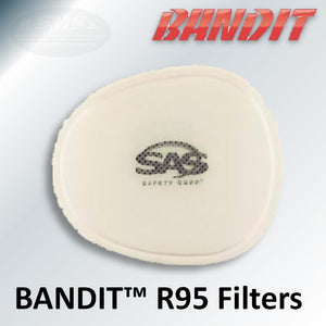SAS Safety BANDIT R95 Pre-Filters