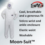 SAS Safety Moonsuit Washable Coveralls
