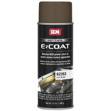 SEM 62263 Ez Coat Olive Brown, 16 oz Aerosol