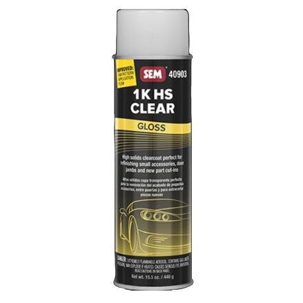 SEM 40903 1K HS Clear Coat Gloss
