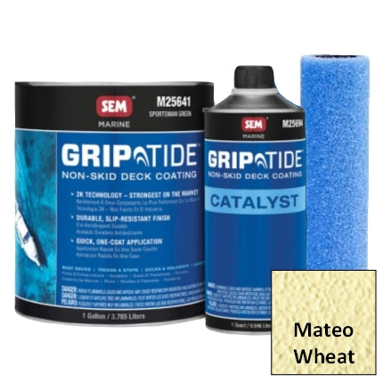 SEM GripTide Non-Skid Deck Coating Kit, Mateo Wheat, M25630