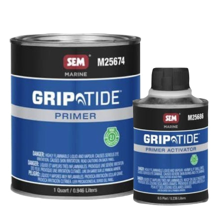 SEM GripTide Non-Skid Primer Bundle Kit, M25674 and M25686