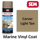 SEM Marine Vinyl Coat Carver Light Tan, M25133