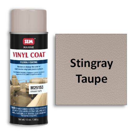 SEM Marine Vinyl Coat Stingray Taupe, M25153
