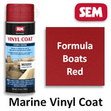 SEM Vinyl Coat Formula Boats Red, M25233