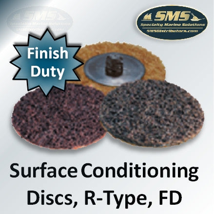 Finishing Duty FD Mini Surface Conditioning Discs, R-Type