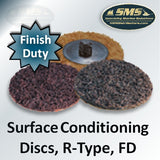 Surface Conditioning Discs, Finishing Duty, R-Type Attachmet