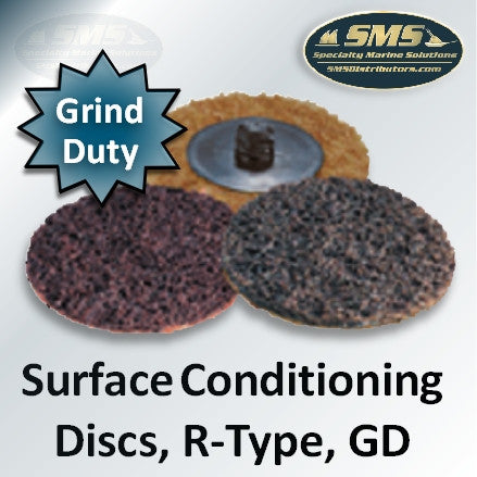 Grind Duty GD Mini Surface Conditioning Discs, R-Type