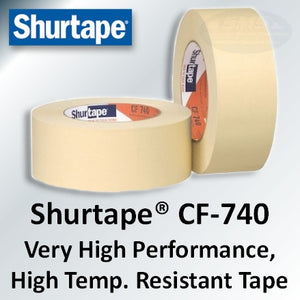 "24mm (~1"") Shurtape CF-740 High Performance Masking Tape"