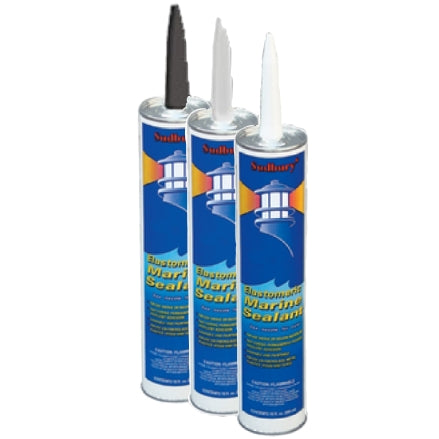Sudbury Elastomeric Marine Sealant Cartridge, 10 ounce