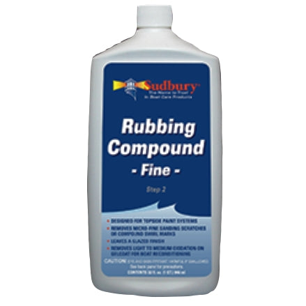 Sudbury Fine Cut Finishing Compound, 442-32