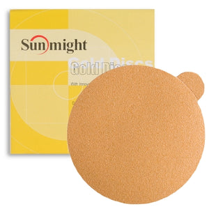 "Sunmight Gold 6"" PSA Solid Sanding Discs"