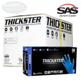 SAS Safety THICKSTER 14 mil Latex Powder-Free Gloves