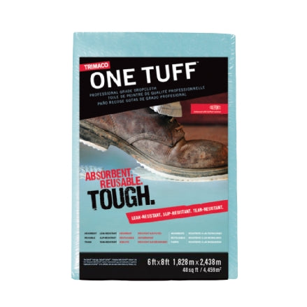 One Tuff Professional Grade Drop Cloths, 6' x 8', 90088