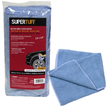 Trimaco SuperTuff Microfiber Wipes, 12-Pack, 10829