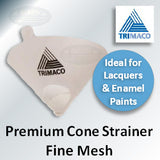 SuperTuff Paper Cone Fine Mesh Paint Strainers, 11107